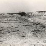 De vliegstrip Kluis bij Nijmegen na de verwijdering van de geperforeerde staal platen in 1945. Foto 004