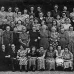 Katholieke Arbeiders Vrouwen (nu Gelderse Katholieke Vrouwenbeweging) naar Rhenen 21 juli 1949