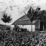 Familie G.Geurts in de Erikastraat in 1944.