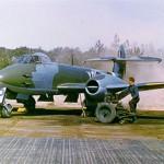 Gloster Meteoor van het 616e Squadron met kenteken YQ-P, foto van het RAF Museum, REF No. P100280