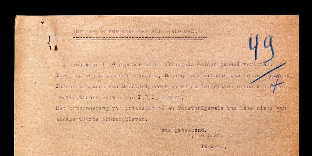 Notitie-van-11-september-1945-betreffende-het-vliegveld-Malden