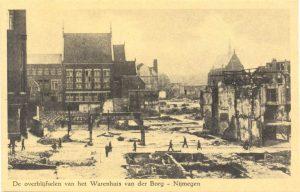 De overblijfselen van het Warenhuis van der Borg – Nijmegen