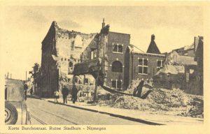 Korte Burchtstraat. Ruine Stadhuis – Nijmegen