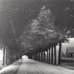 Foto 03-1 Rijksweg 1912 (JB; rechts het Maldense gemeentehuis dat net gebouwd is)