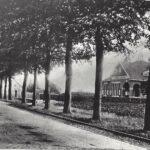 Foto 03-2 Rijksweg met trambaan gelegd 1912