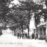 Foto 04-2 Cafe Halfweg 1915 (JB; Ook wel Cafe Vervoort. Langs de Rijksweg hoek Groesbeekseweg)