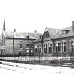 Foto 13-2 Klooster met Mariaschool (JB; De katholieke lagere school voor meisjes van de zusters Franciscanessen