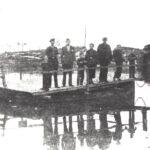 Foto 19-1 Pontje op Maas-Waalkanaal 1945-1948