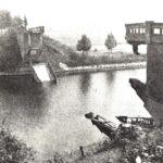 Foto 39-1 De Hoge Brug over het Maas-Waalkanaal (JB; De brug is tijdens de oorlog twee maal opgeblazen. Op 10 mei 1940 en op 17 september 1944)